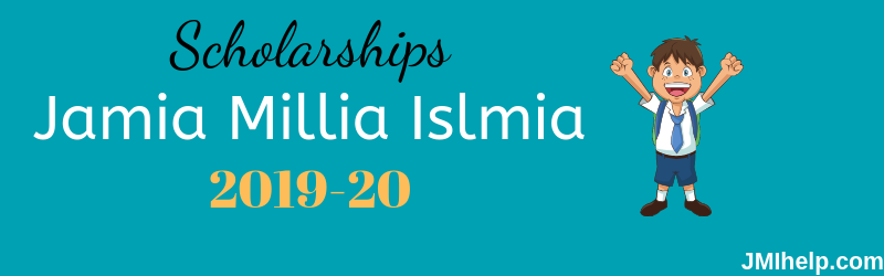 jamia (JMI) scholarships 2019